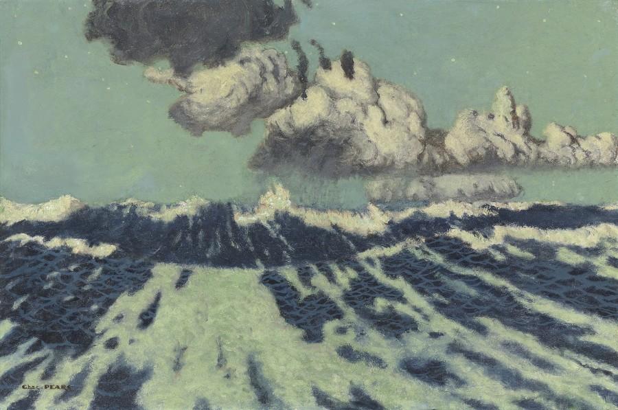 Charles Pears, PSMA, ROI, Stormy seas