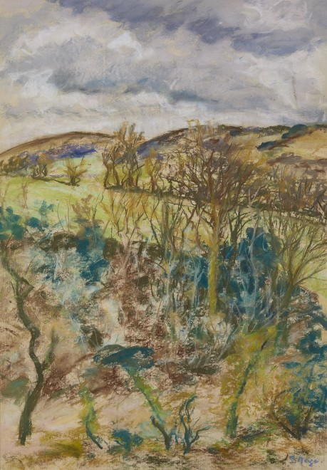 Paul Maze, Sussex Downs in Summer