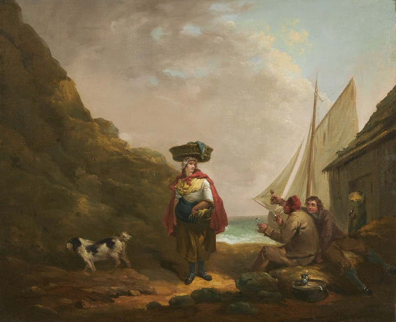 George Morland, The Fisherman's Toast