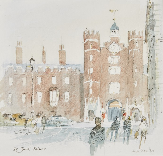 Sir Hugh Casson, PRA, St James's Palace