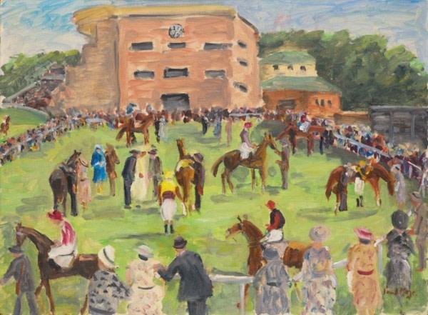 Paul Maze, In the Paddock - Goodwood Racecourse