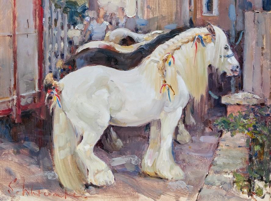Susie Whitcombe, Braids, Wickham Horse Fair