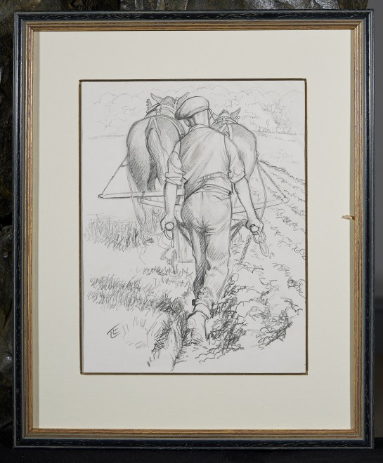 Lionel Edwards, RI, RCA, The Rean Furrow