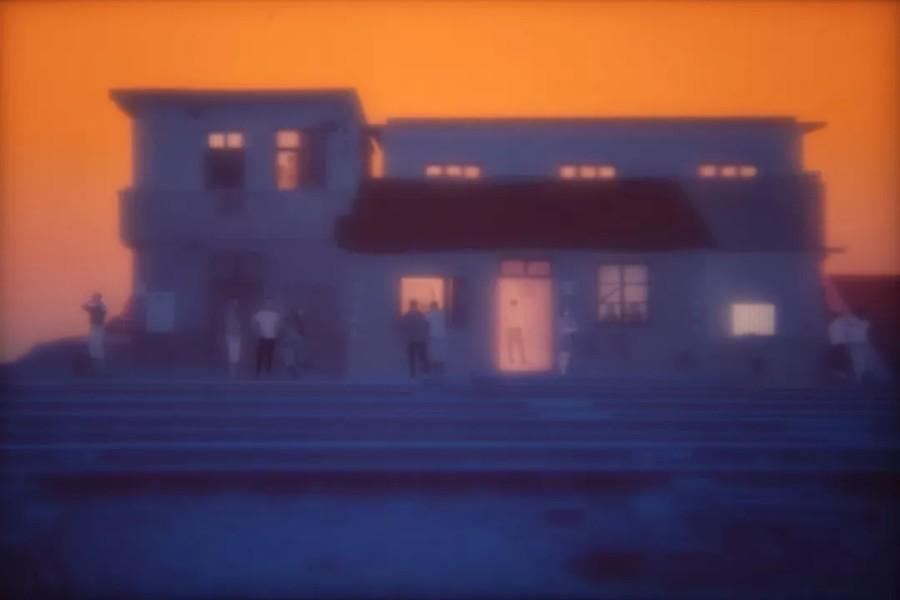 黄晓亮,《Untitled #20150509》,出自《东窗》系列,2015