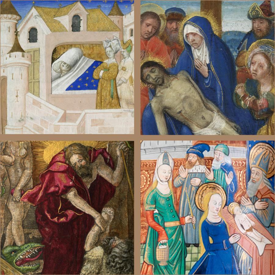Pop-Up Exhibition: Northern Renaissance Manuscript Illumination