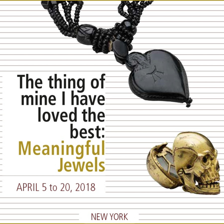 The thing of mine I have loved the best: Meanigful Jewels