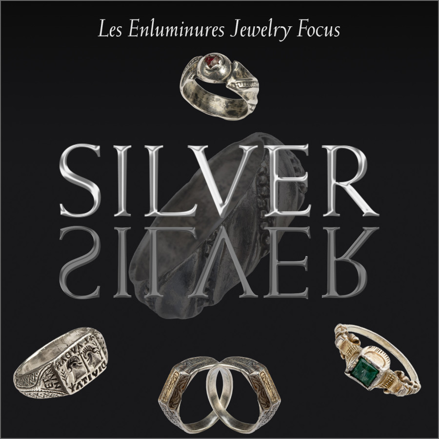 Les Enluminures Jewelry Focus: Silver