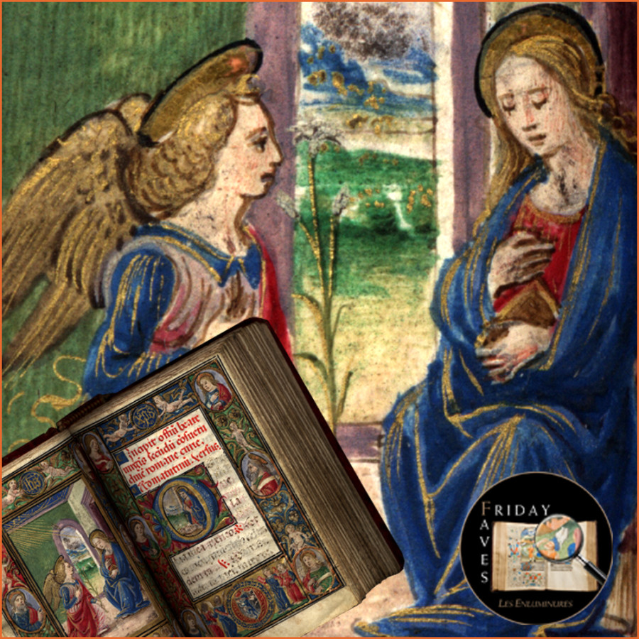 The Calcagni Hours Annunciation