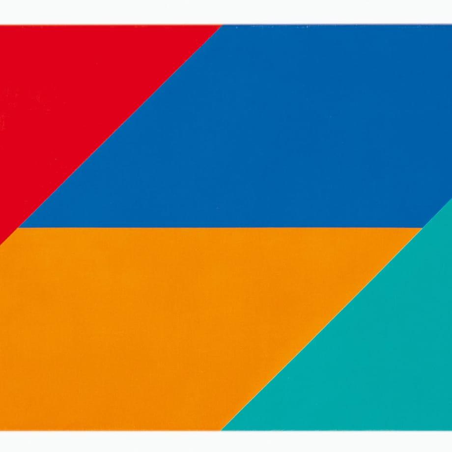 Max Bill, vier gleichgrosse farben, 1970