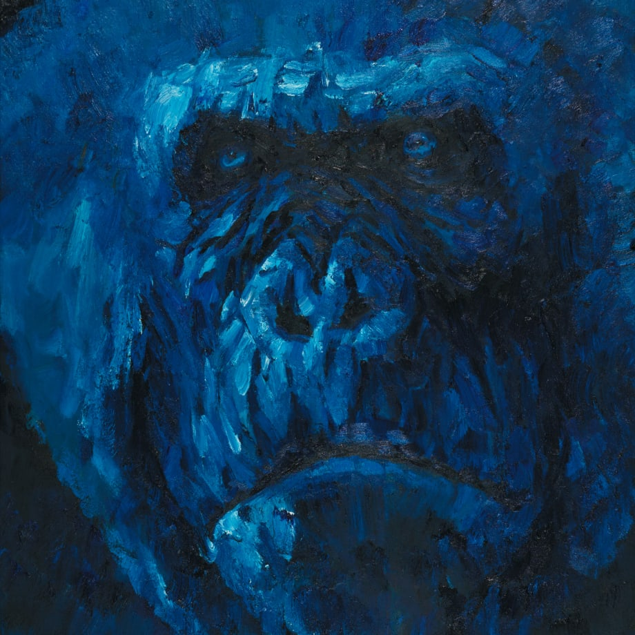 Liu Ruowang, Head of a Gorilla, 2017