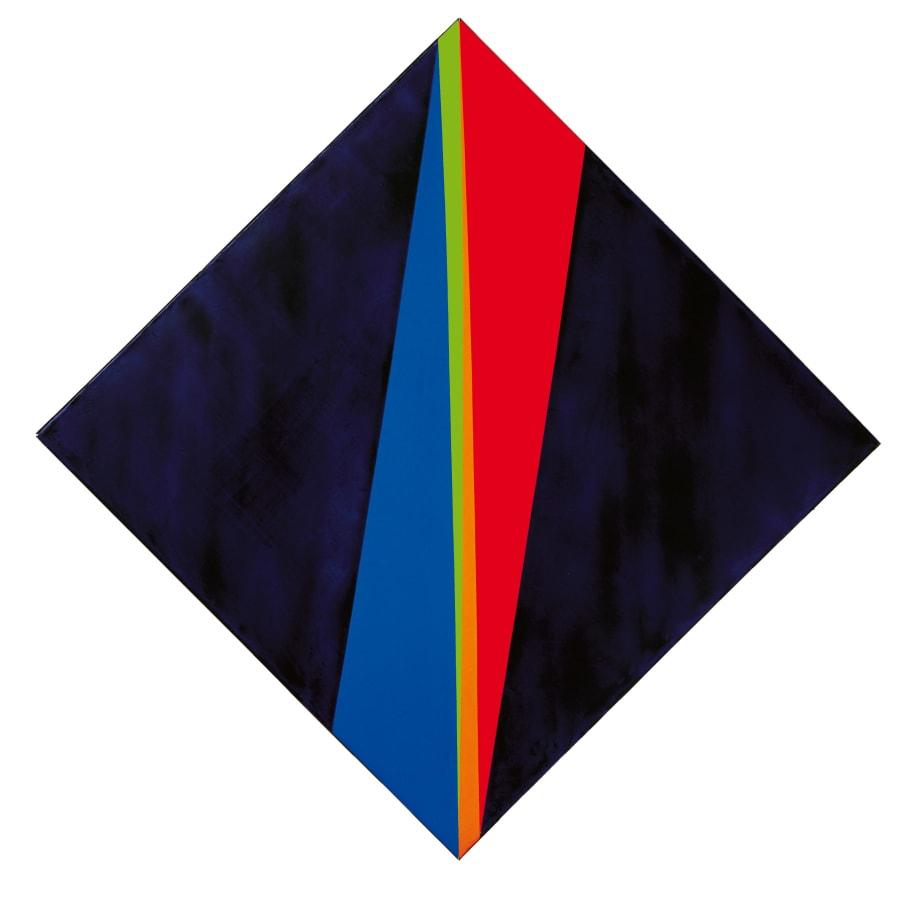 Max Bill, verdichtung aus violet, 1964-1972