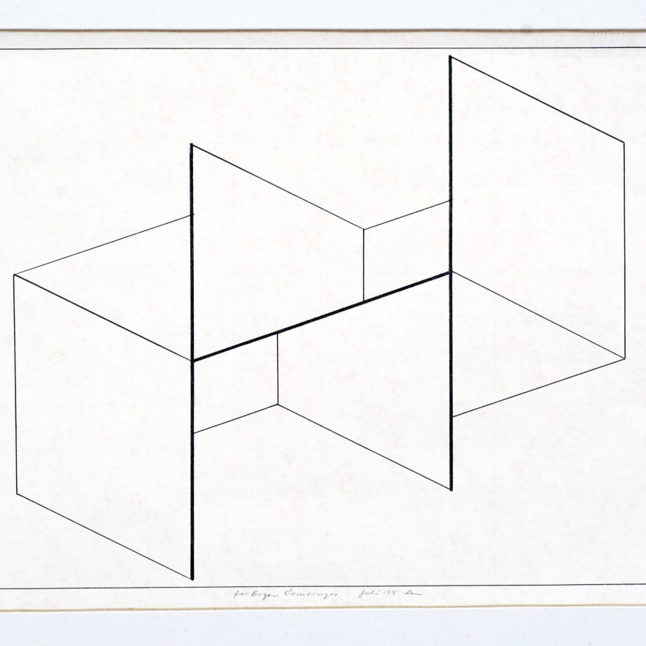 Josef Albers, Untitled, 1969