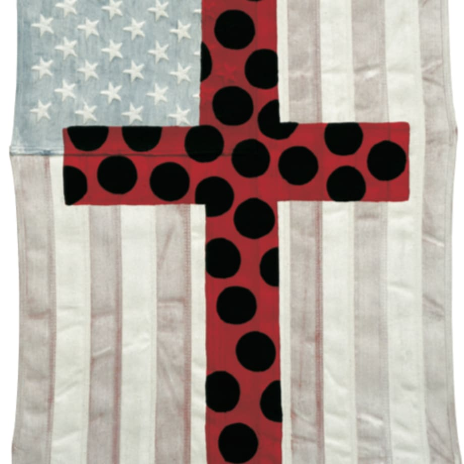 Ronnie Cutrone, Polka dot Cross, 2002