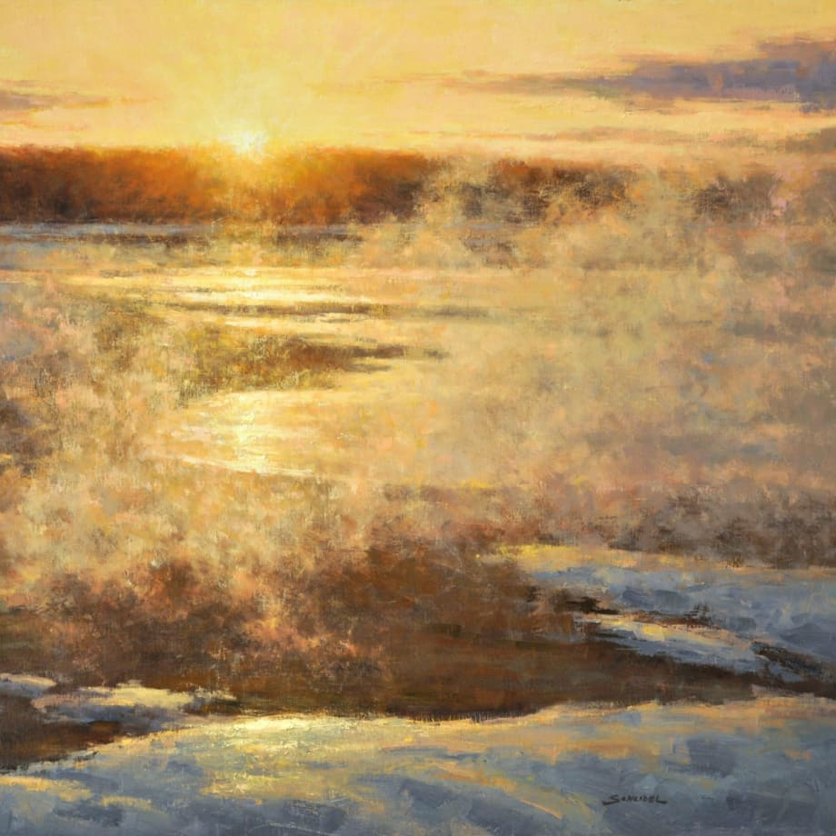 Greg Scheibel, Sunset in Yellowstone