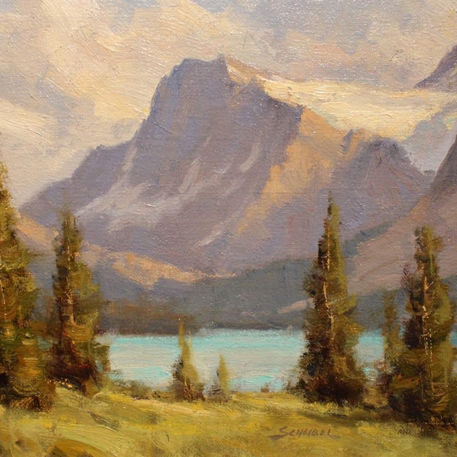 Greg Scheibel, BOW LAKE STUDY