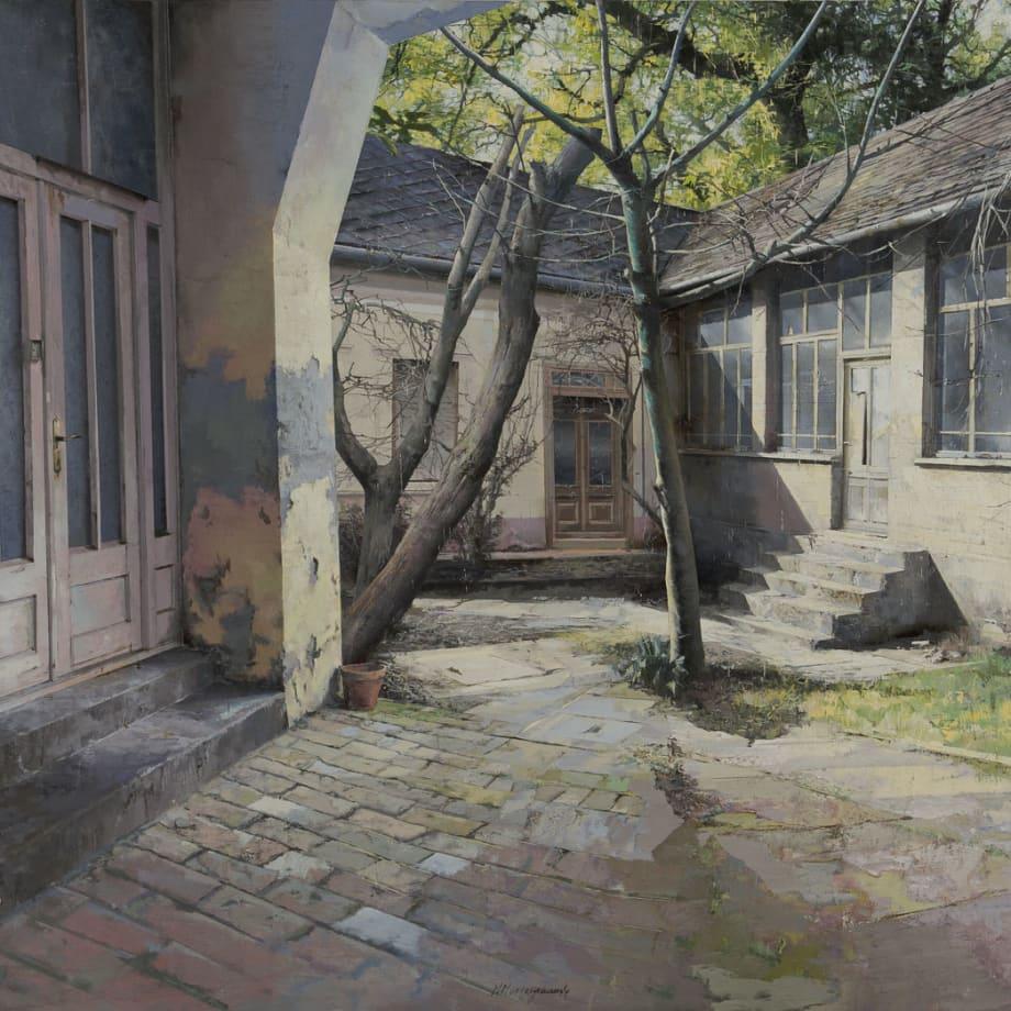 Matteo Massagrande, Courtyard, 2016