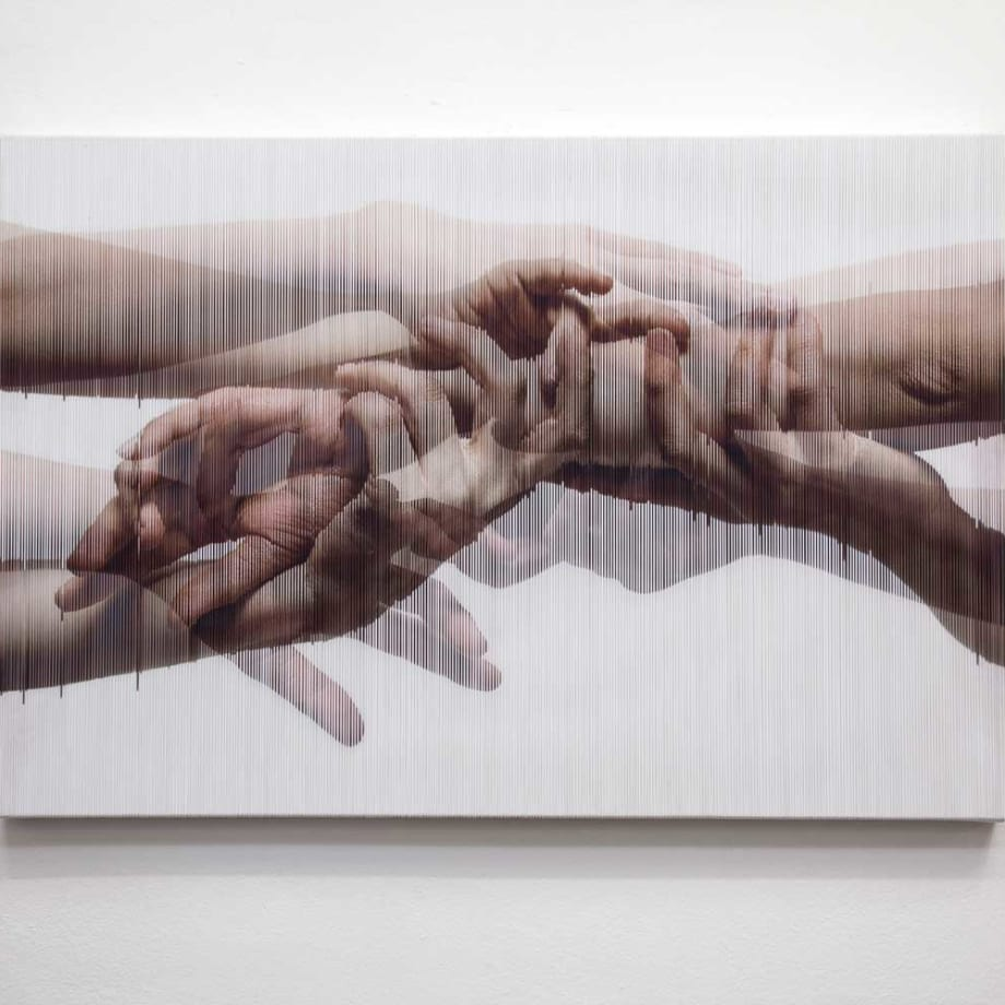 Hong Sungchul, Strings Hands 005 (ed 2/3), 2014