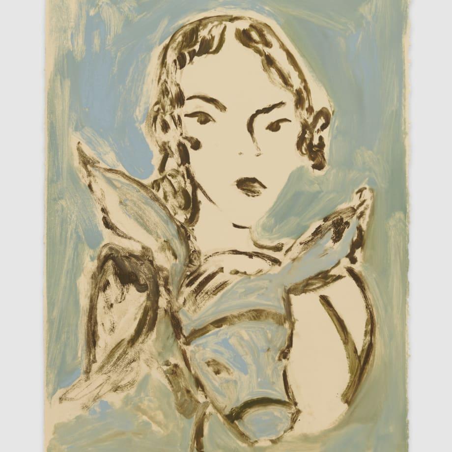 Faye Wei Wei, Blue Horse Blue Boy , 2021