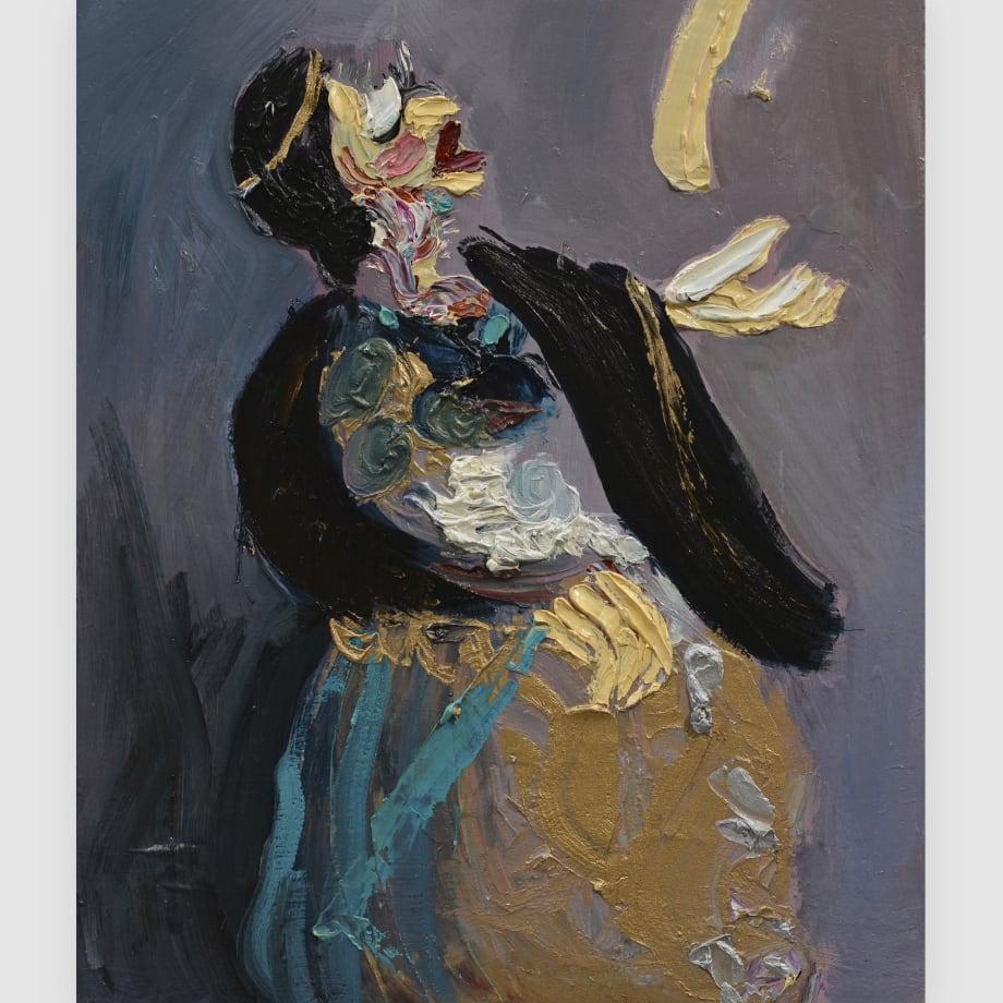 Alida Cervantes, Santa En Oracion, 2017