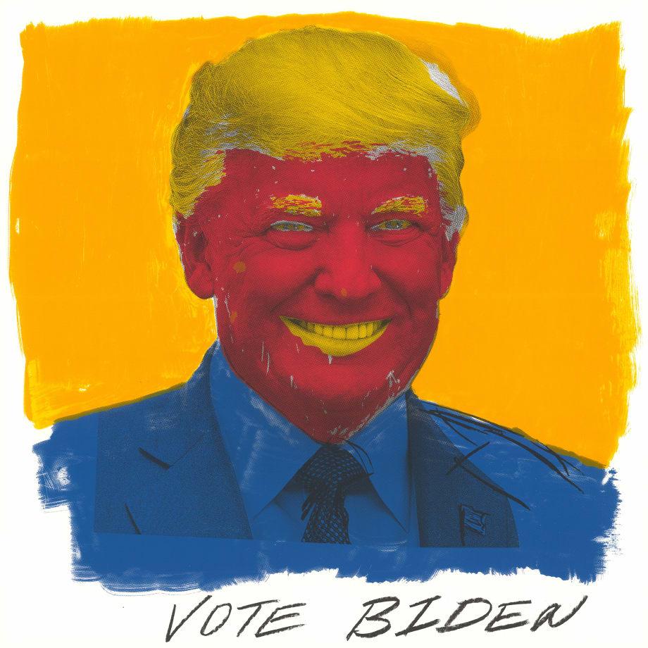 Dread Scott, Vote Biden, 2020