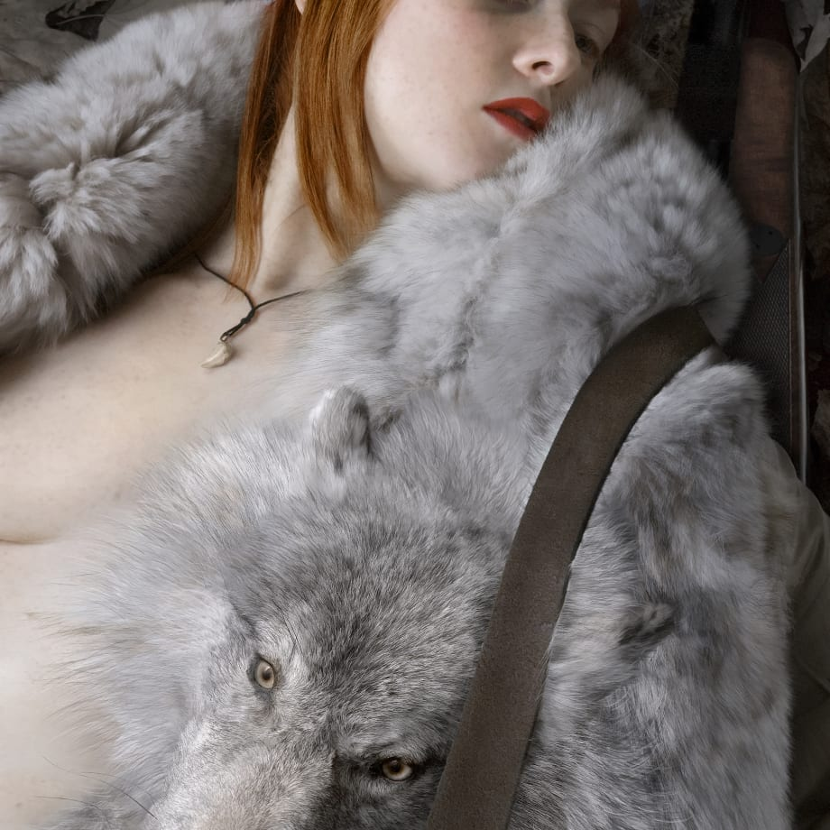 Katerina Belkina, Red Riding Hood. Justified Cruelty, 2006
