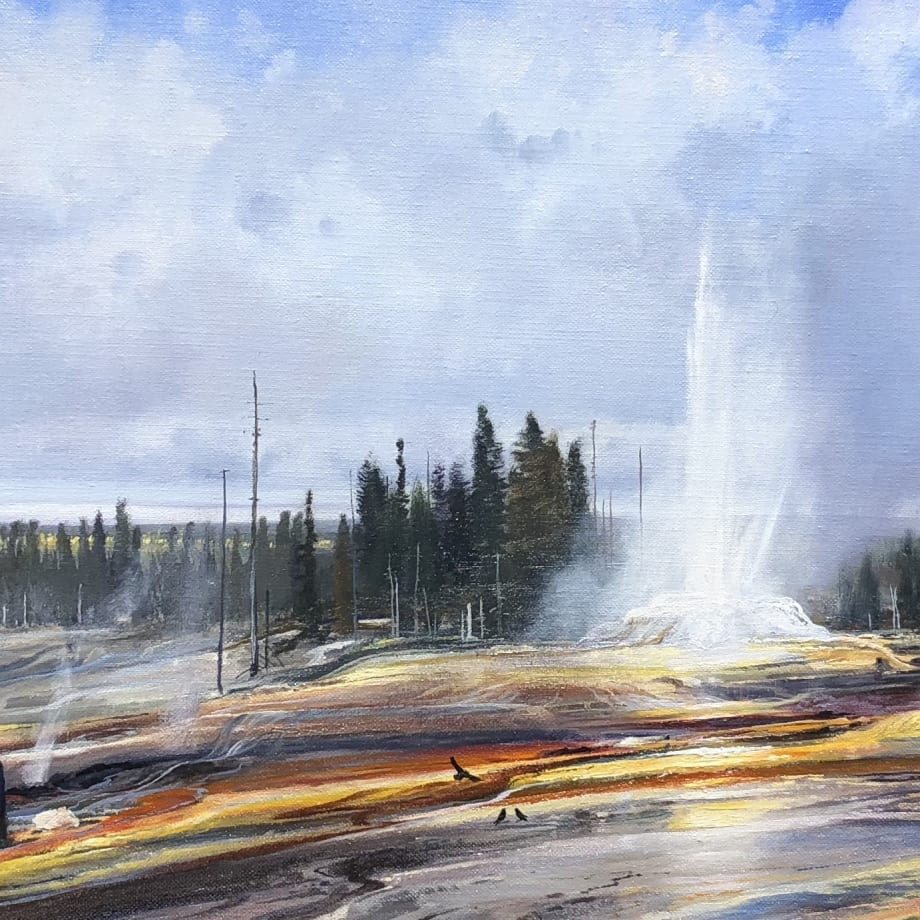 Michael Coleman, Yellowstone Geysers