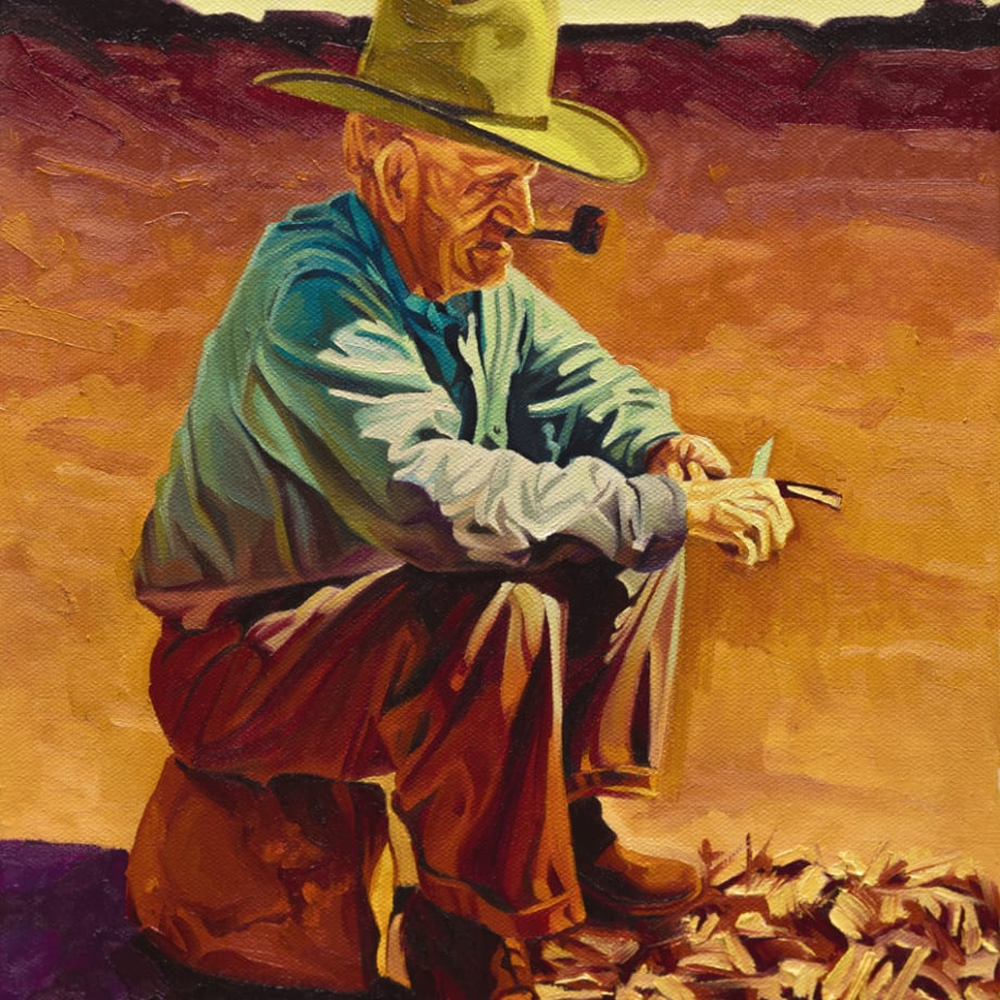Michael Blessing, THE WHITTLER