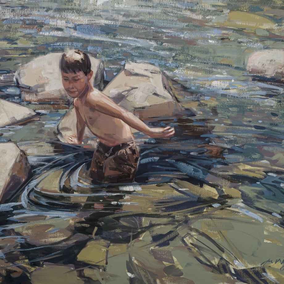 Joe Wayne, THE SWIMMING HOLE