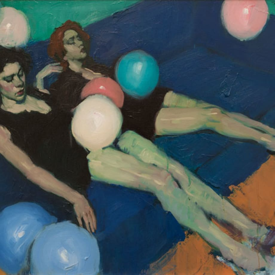 Malcolm Liepke, Party's Over, 2017