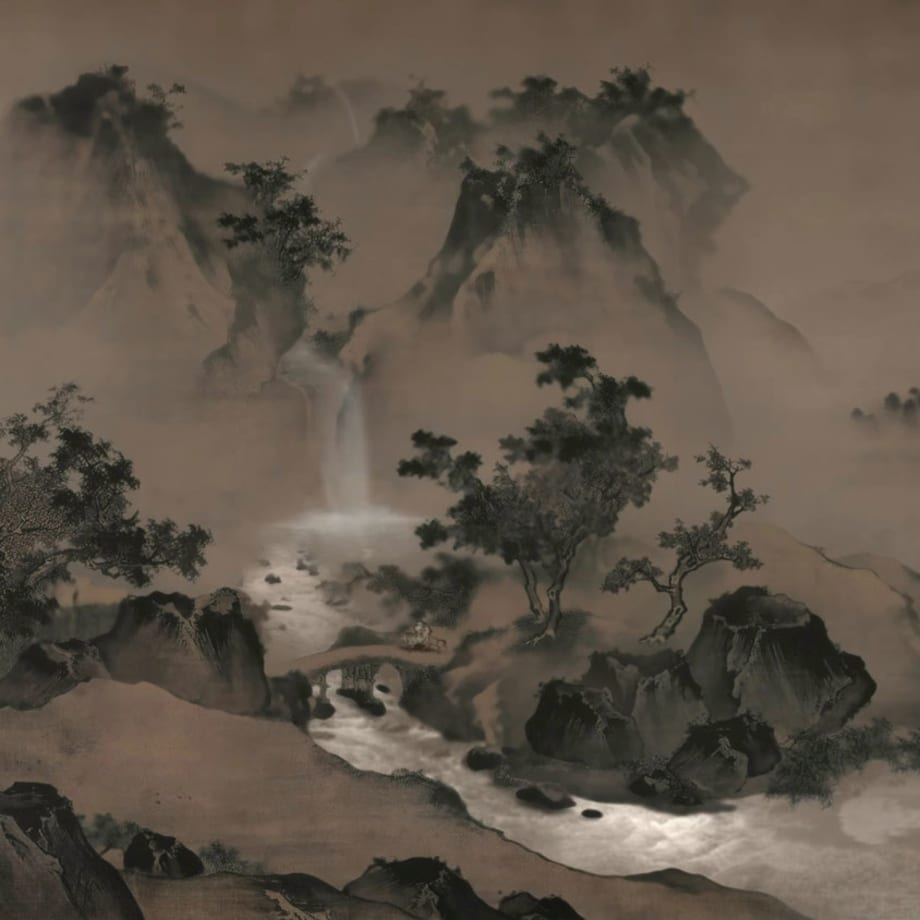 Lee Leenam, Landscape of Wang Shichang , 2013