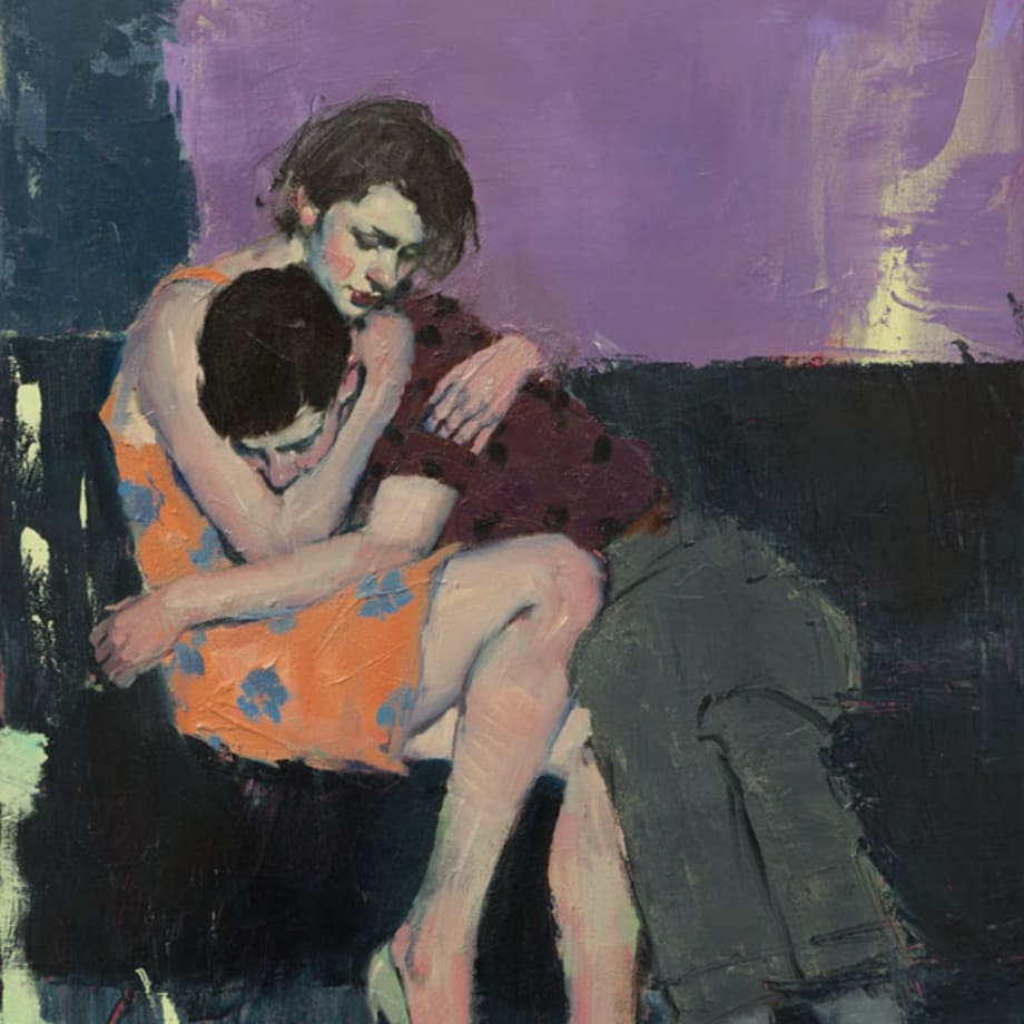 Malcolm Liepke, In Her Arms, 2017