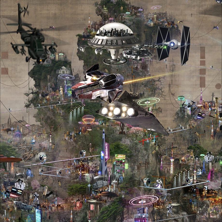 Lee Leenam, The Battle of Civilisation - Star Wars V, 2016