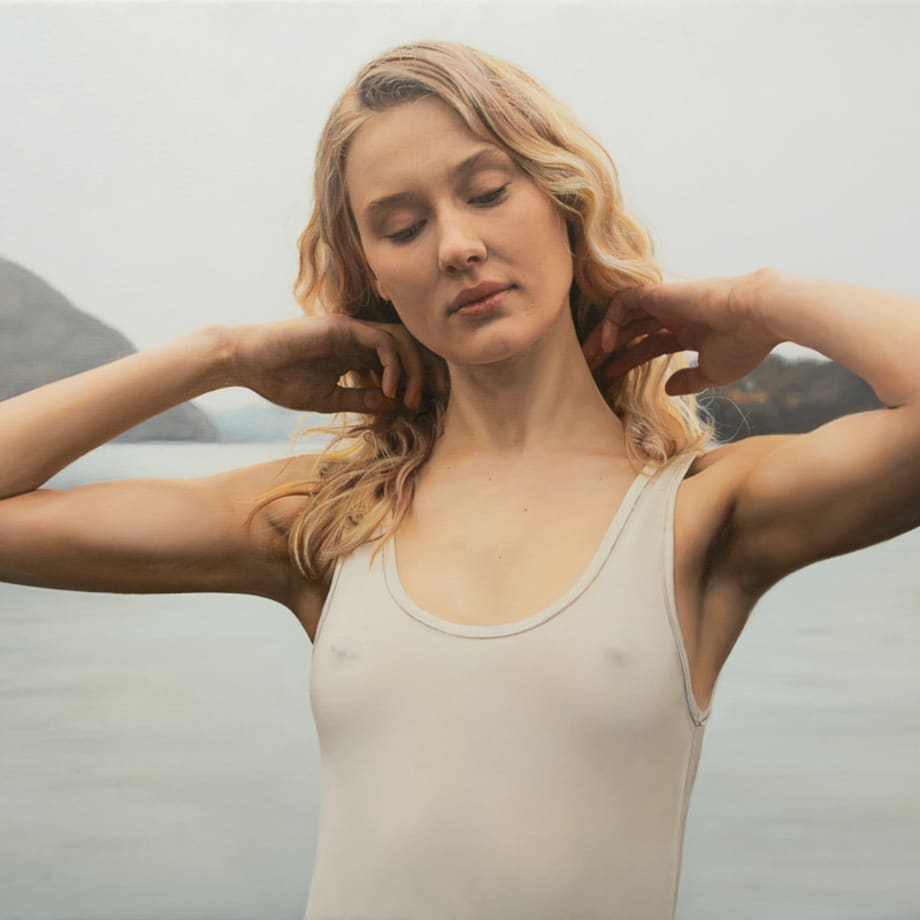 Yigal Ozeri, Untitled; Annika, 2019
