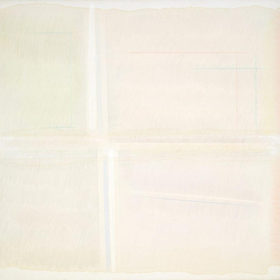 Riccardo Guarneri, Costruzione superficie luce con due linee, 1965