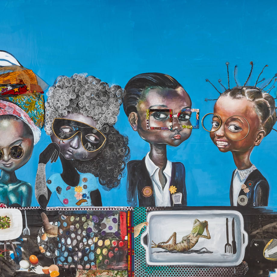 Ndidi Emefiele, The last supper, 2016