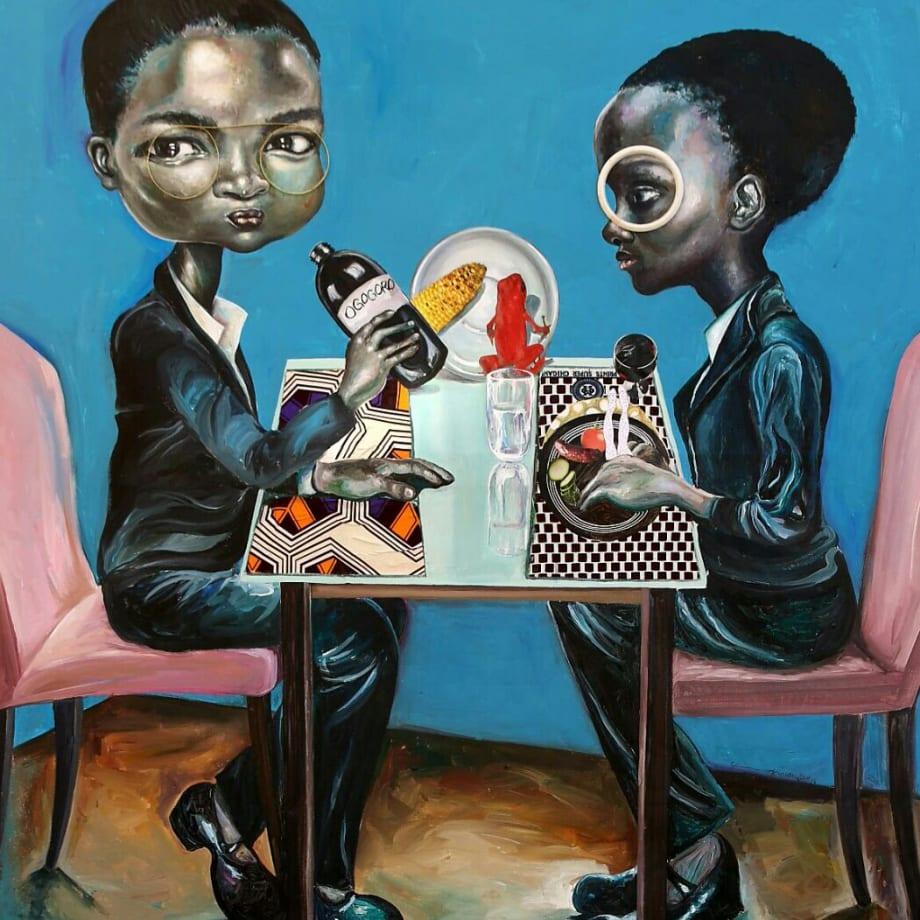 Ndidi Emefiele, Space lunch, 2016