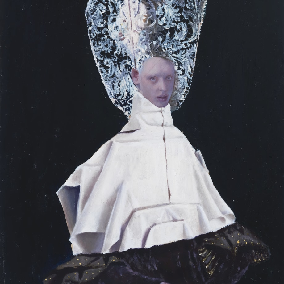Teodora Axente, Helmet Lace, 2018