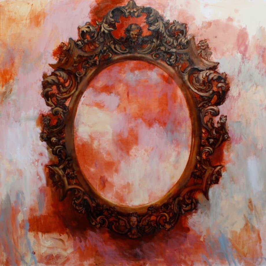 Dark Sun | 2018 | Oil on canvas | 150 x 180 cm (59.1 x 70.9 in)