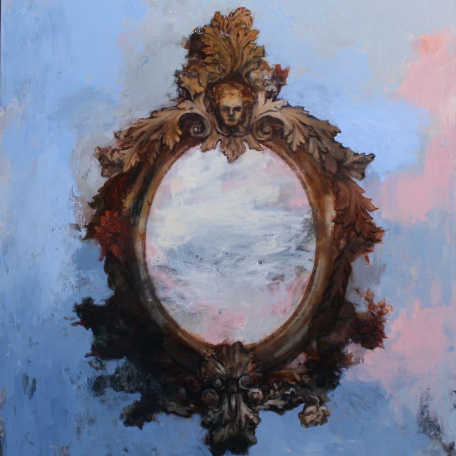 Tim Wright | Gatekeeper | 2018 | Oil on canvas (110 x 100 cm)