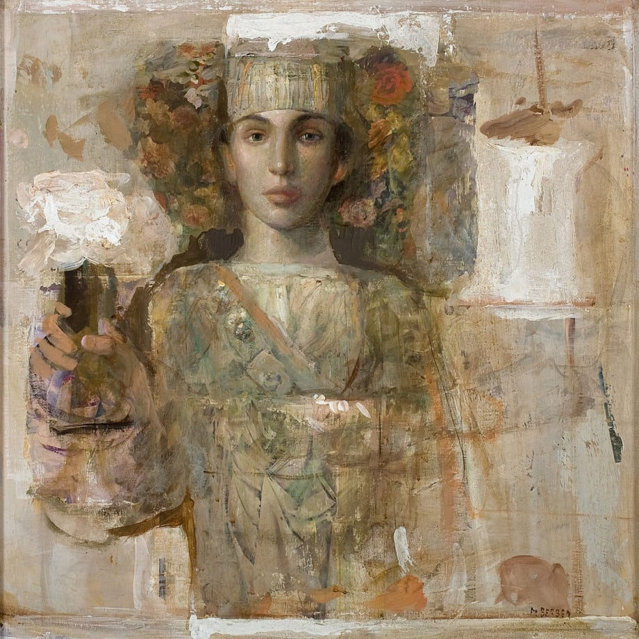 Flora from Dubrovnik VI | 2012 | Oil & mixed media on canvas | 60 x 60 cm