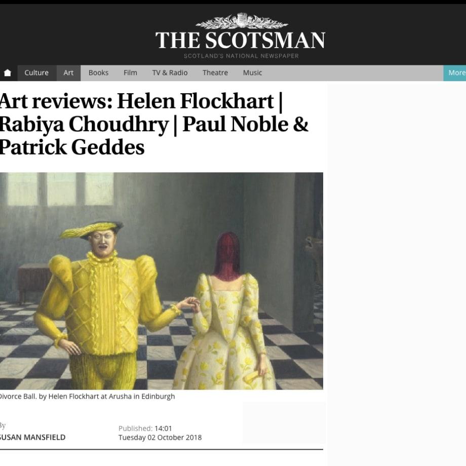 Art reviews: Helen Flockhart