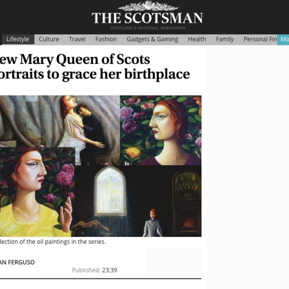 New Mary Queen of Scots portraits to grace her birthplace