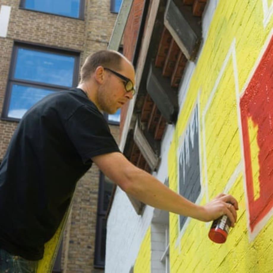 Ben Eine: You Can't Stop Graffiti