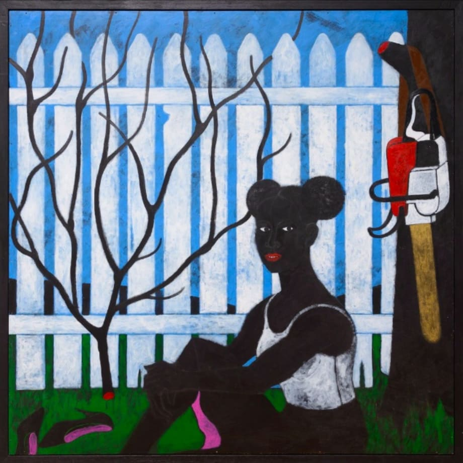 Belulah's Garden, Abe Odedina, 2018.