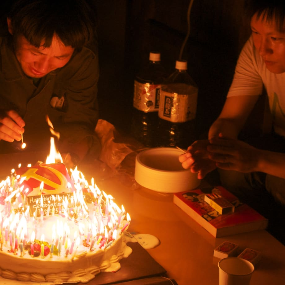 Yoshinori Niwa, Celebrating Karl Marx's Birthday With Japanese Communist Party, 2013