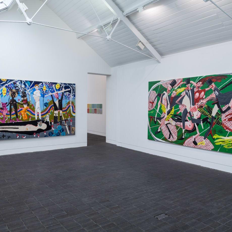 Jerwood Painting Fellowships, installation view, Jerwood Space, London, UK, 2016