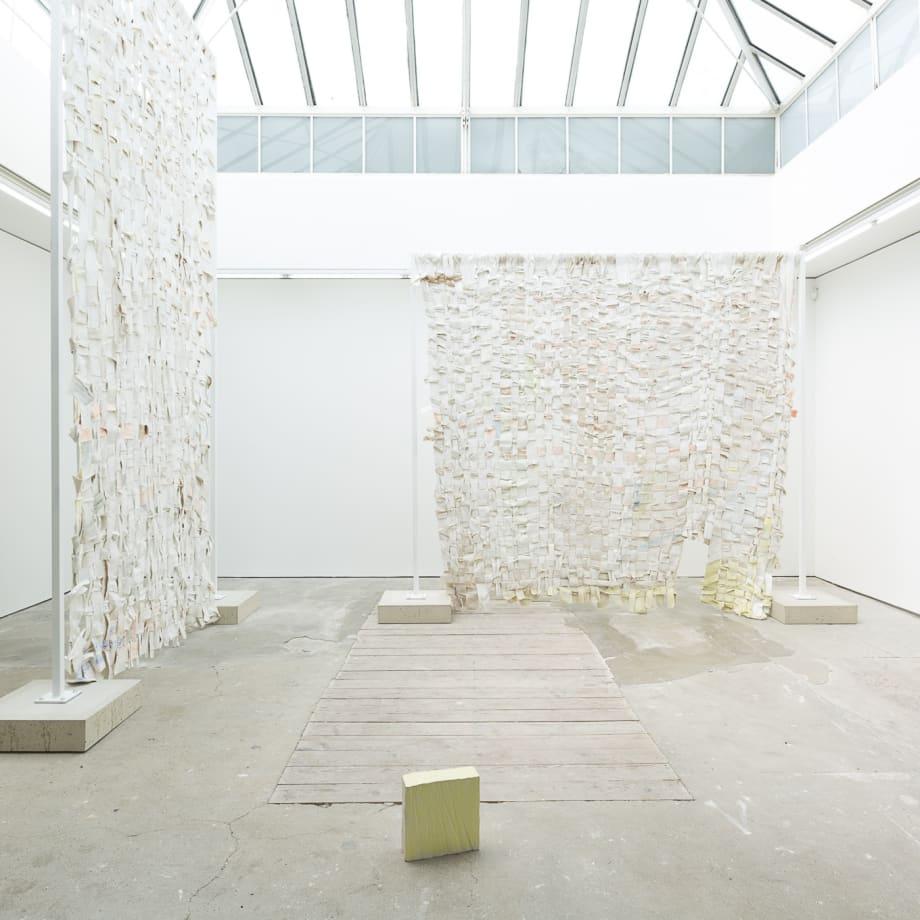 Jodie Carey, installation view, Edel Assanti, London, UK 2019