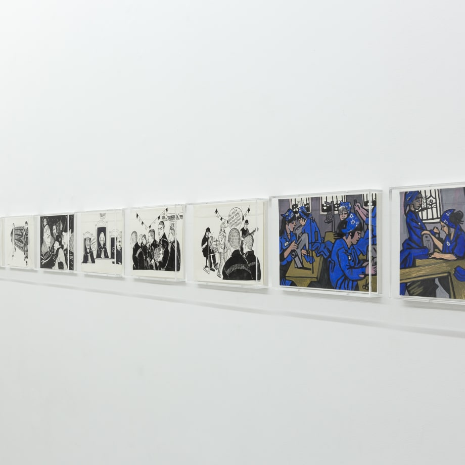 Victoria Lomasko, Other Russias, 2008-17