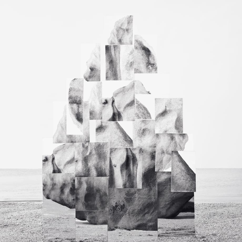 Noémie Goudal, Soulèvement IV, 2018, inkjet print, 150 x 120 cm