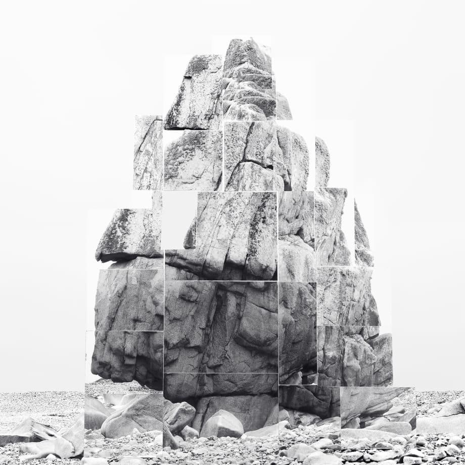Noémie Goudal, Soulèvement V, 2018, inkjet print, 150 x 120 cm